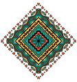 Mandala Square ornament vector image