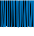 curtain theatre vector image