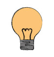 Light bulb electric incandescent vector image