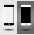 New icon mobile smartphone collection iphon style vector image