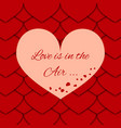 greeting card for the loved ones vector image