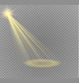 spotlight light effectlight beam isolated vector image