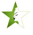 Ladies spa logo vector image