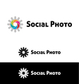 Social photo vector image