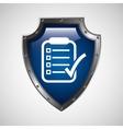 symbol checklist report patient medicine icon vector image