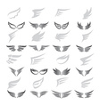 wing art collection vector image