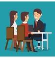 businessman coworking people team vector image
