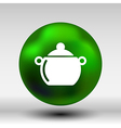 Logo pot casserole cooking image sign vector image