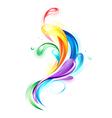 Rainbow Light Drops vector image