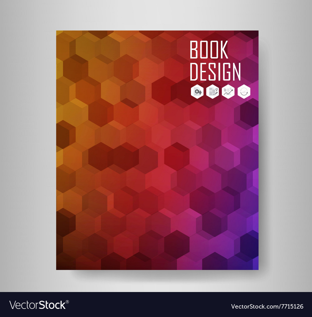 Abstract book backgrounds vector