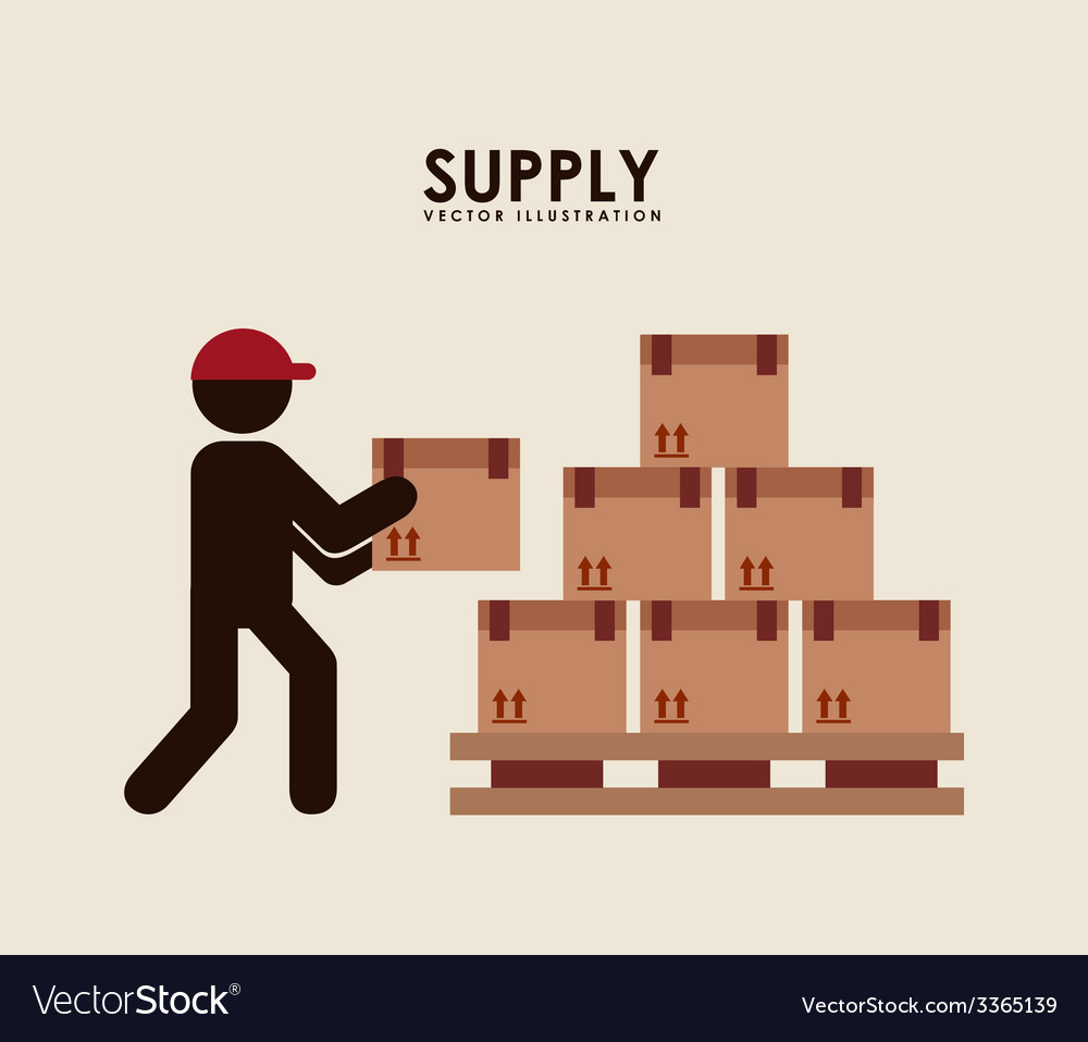Supply design vector