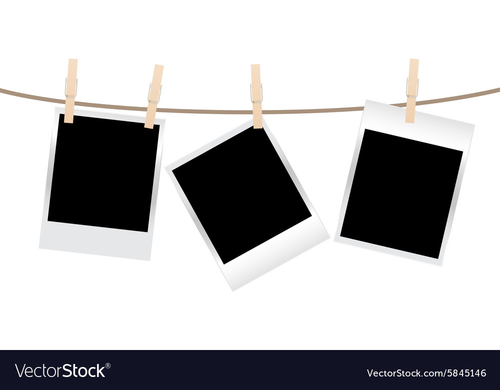 Photos clothespin vector