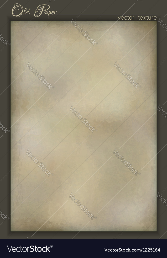 Vintage old paper texture background design vector