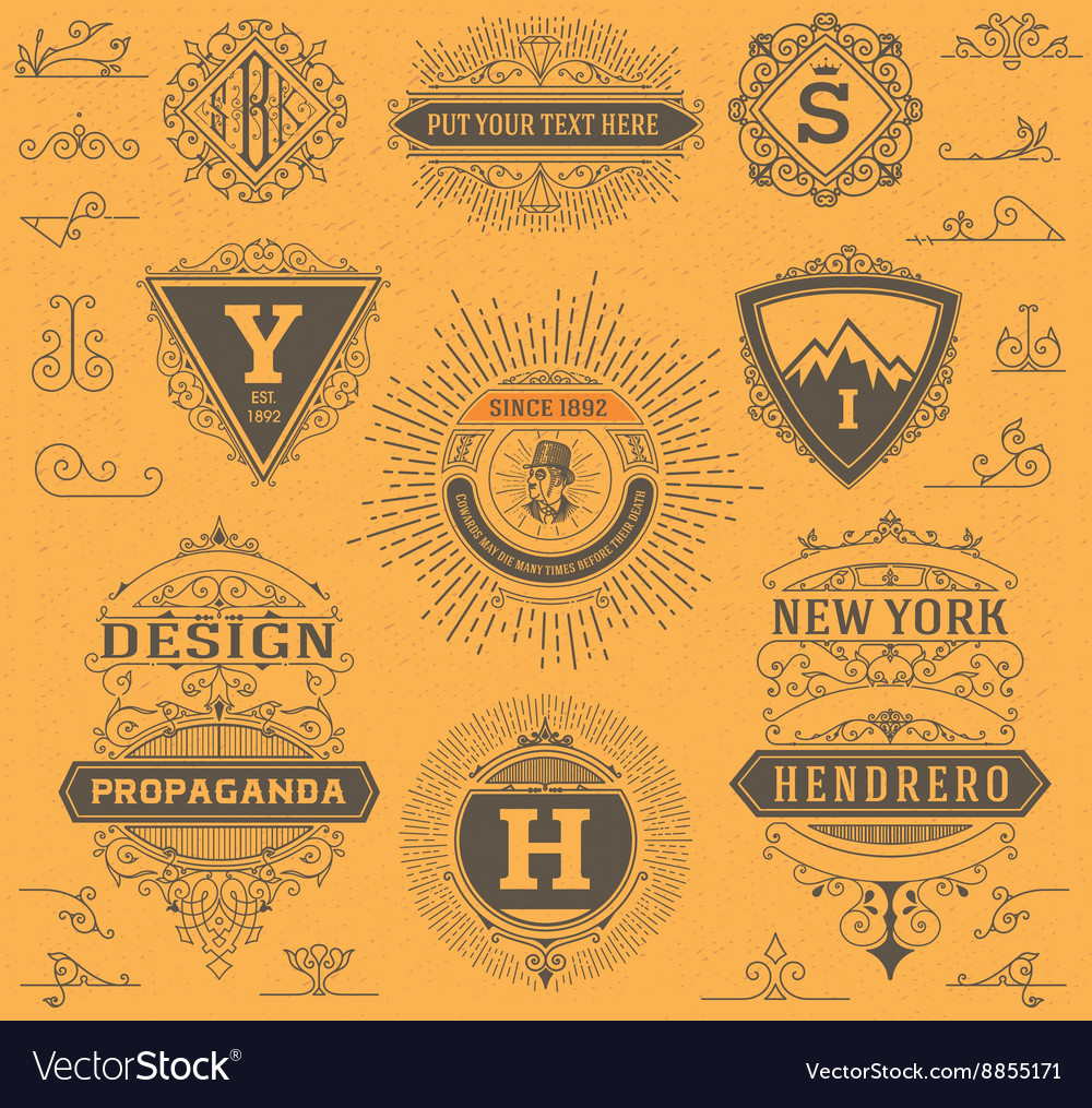 Premium quality design resources labels banners vector