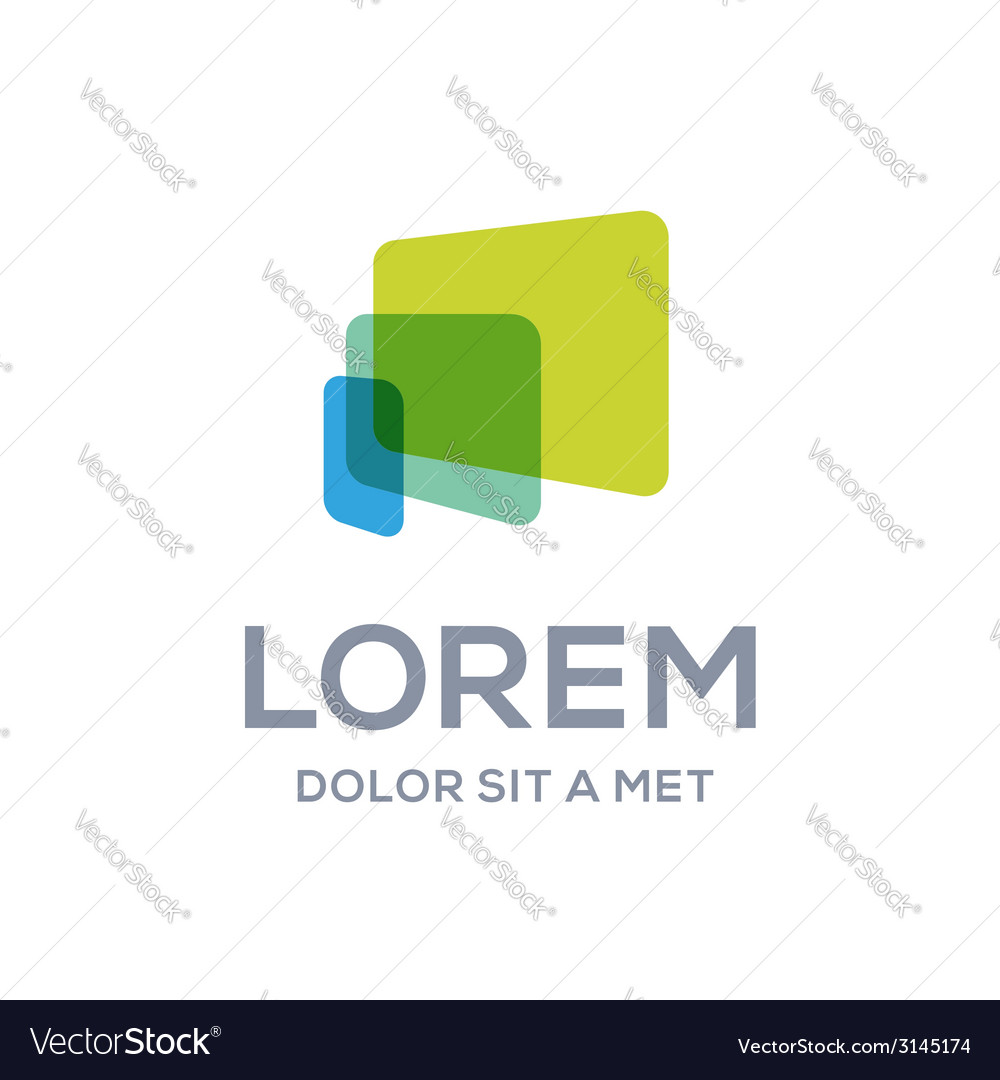 Computer laptop tablet phone logo icon design vector