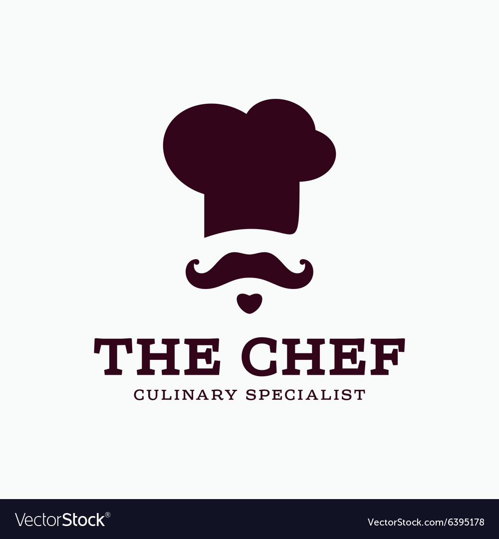 Chef cook logo icon toque chefs hat trend vector