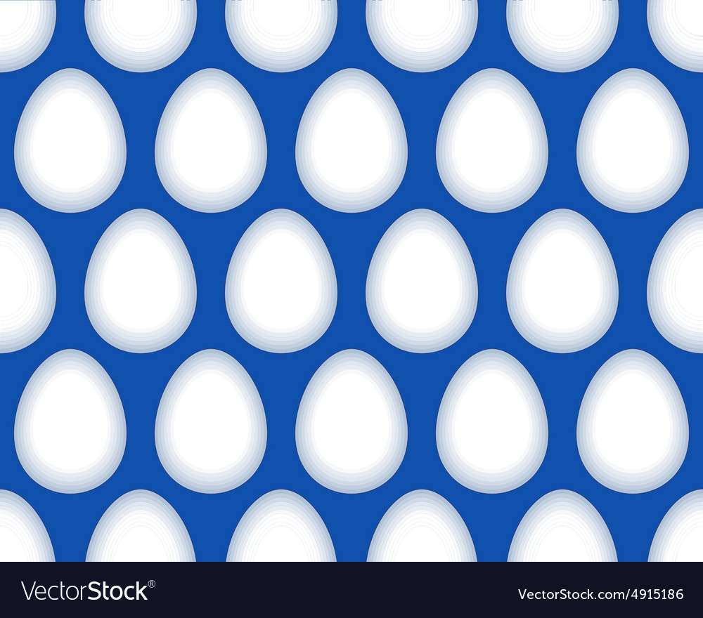 Egg pattern vector