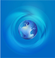 World Global Commerce communication vector image vector image