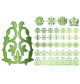 caucasus ornaments vector image