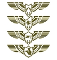 Army badges-3 vector image