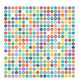 Set of 200 Universal Icons Business internet web vector image