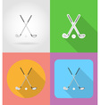 sport flat icons 02 vector image vector image