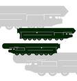 Strategic Rocket Forces vector image