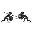gladiators vector image vector image