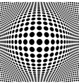 Abstract Black Halftone Background for your design vector image