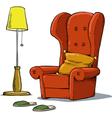 cozy armchair vector image