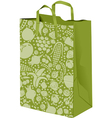 Grocerie Paper bag vector image
