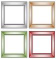 Frame Set vector image vector image