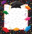 graduation party invitation vector image