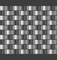 silver gradient pattern vector image