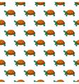 Turtles pattern vector image