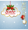 clouds discount vector image