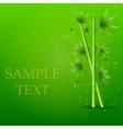 creative bamboo background Eps10 vector image