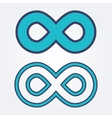 Set of limitless icons vector image