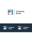 Universal template logo vector image