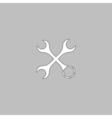 Tools computer symbol vector image