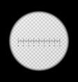 Monoculars spyglass view template vector image vector image