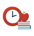 book education isolated icon vector image