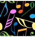 endless music pattern vector image