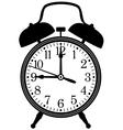 Retro alarm clock vector image