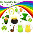 stpat set vector image