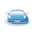 A car is parked vector image vector image