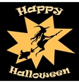 background for Halloween vector image