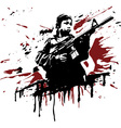 Child Soldier vector image vector image