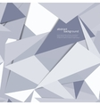 Origami geometric background vector image