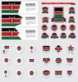 SET Kenya vector image